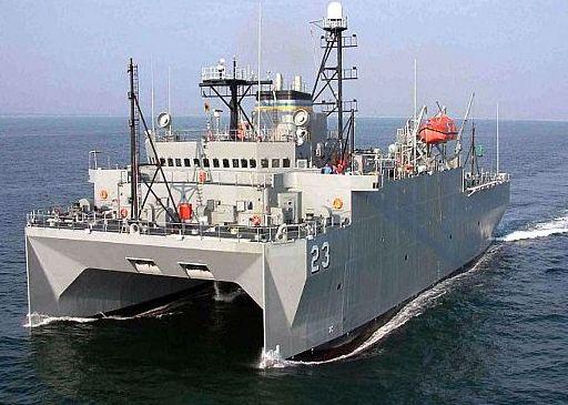 USNS Impeccable (US Navy photo)