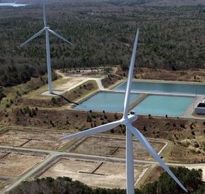 Falmouth turbines aerial WEB